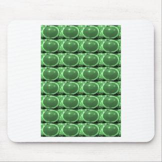 Tapis De Souris Amusement vert de terre de bijou de vert