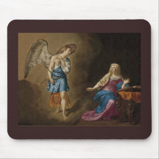 Tapis De Souris Anges c1515 de nativité et d'enfant