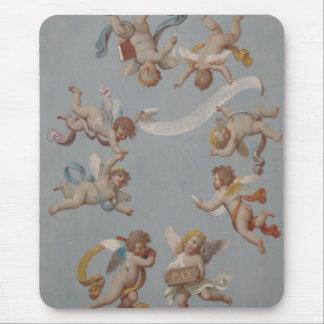 Tapis De Souris Anges lunatiques d'ange de la Renaissance