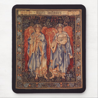Tapis De Souris Anges vintages, angélus Laudantes par Burne Jones