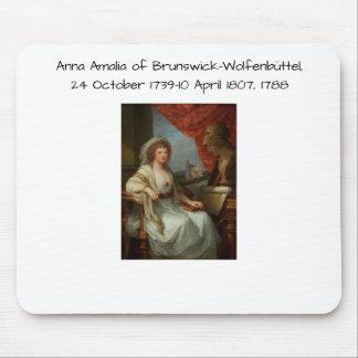 Tapis De Souris Anna Amalia de Brunswick-Wolfenbuttel 1788