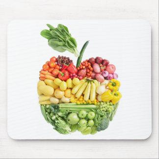 Tapis De Souris Apple végétarien