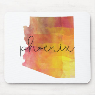 Tapis De Souris Aquarelle Phoenix Arizona