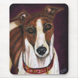 Tapis De Souris Art de chien de lévrier - pourcentage