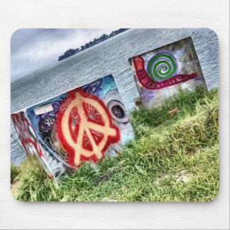 Tapis De Souris Art impressionnant de graffiti dans Berkeley la