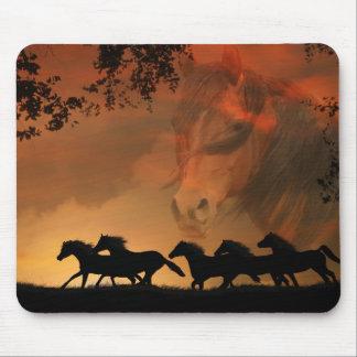 Tapis De Souris Art Mousepad de cheval