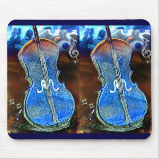 Tapis De Souris Art Mousepad de duo de violon