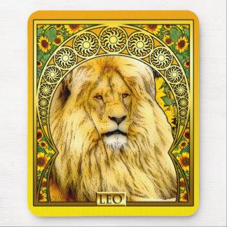 Tapis De Souris Art Nouveau Lion