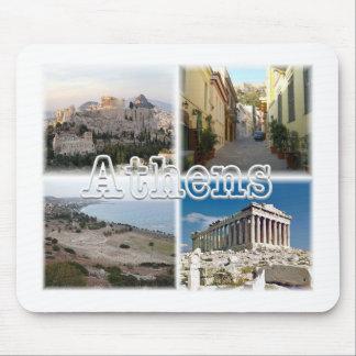 Tapis De Souris Athènes Grèce