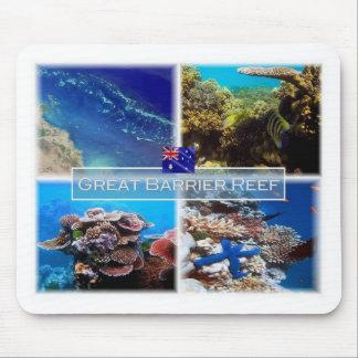 Tapis De Souris AU - Australie - Grande barrière de corail -