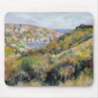 Tapis De Souris Auguste Renoir - collines autour de la baie