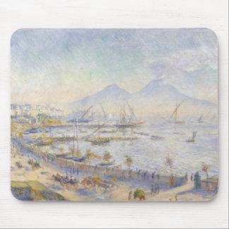 Tapis De Souris Auguste Renoir - la baie de Naples