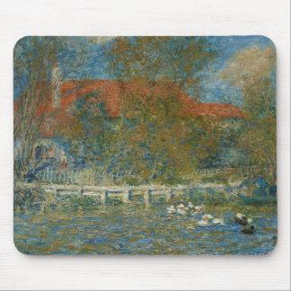 Tapis De Souris Auguste Renoir - l'étang de canard