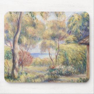 Tapis De Souris Auguste Renoir - Paysage un Cagnes