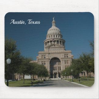 Tapis De Souris Austin, bâtiment de capitol de TX
