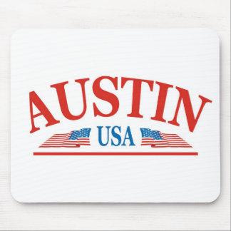 Tapis De Souris Austin le Texas Etats-Unis