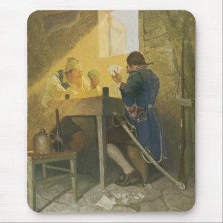 Tapis De Souris Aux cartes dans la cage de Cluny par OR Wyeth