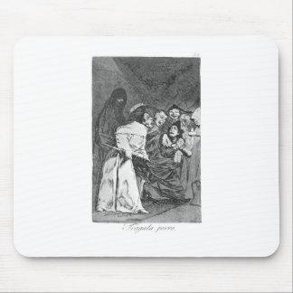 Tapis De Souris Avalez-le, chien par Francisco Goya