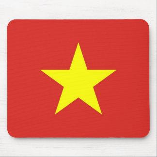 Tapis de souris avec le drapeau du Vietnam