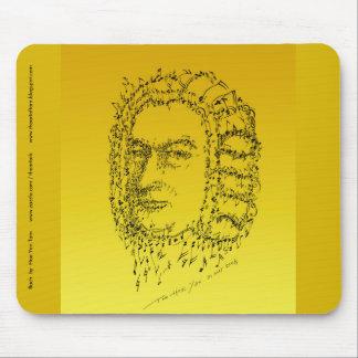 Tapis De Souris Bach : Faites face à la musique