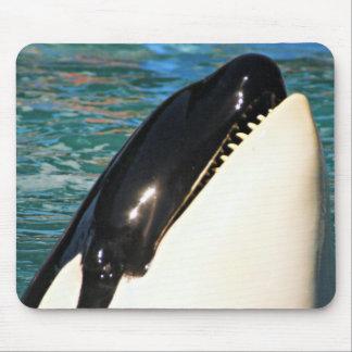 Tapis De Souris Baleine indiquant le bonjour