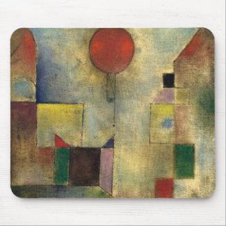 Tapis De Souris Ballon de rouge de Paul Klee