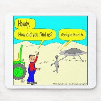 Tapis De Souris Bande dessinée de 280 Google Earth en couleurs