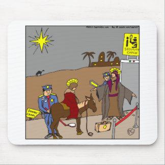 Tapis De Souris bande dessinée de contrôle de sécurité de x31 Mary