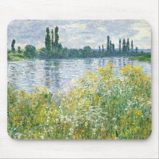 Tapis De Souris Banques de Claude Monet   de la Seine, Vetheuil,