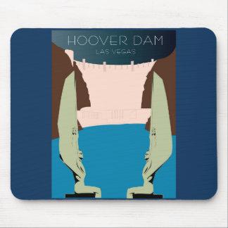 Tapis De Souris Barrage de Hoover Mousepad