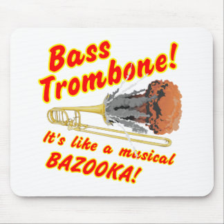 Tapis De Souris Bazooka bas de musical de trombone