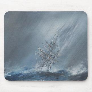 Tapis De Souris Beagle de voie HMP dans la tempête outre le Cap