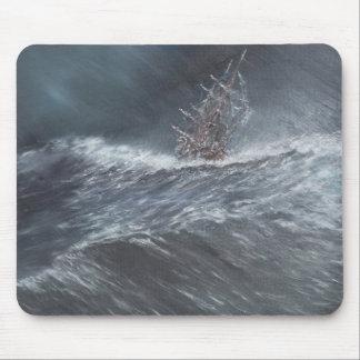 Tapis De Souris Beagle de voie HMP dans une tempête outre du Cap