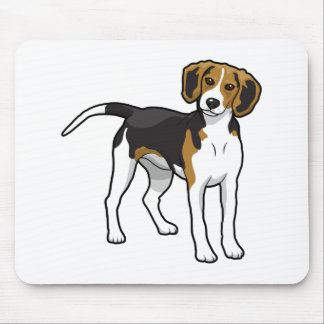 Tapis De Souris Beagle debout