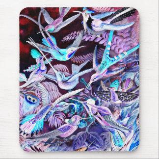 Tapis De Souris Beaux-arts de colibri