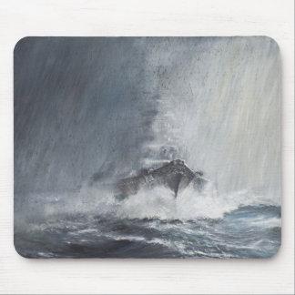 Tapis De Souris Bismarck par des rideaux du verglas de pluie