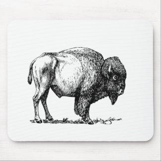 Tapis De Souris Bison américain de Buffalo