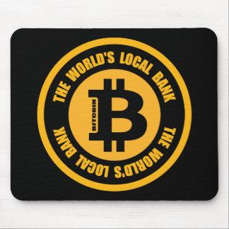 Tapis De Souris Bitcoin la banque locale des mondes