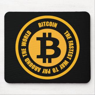Tapis De Souris Bitcoin la manière la plus rapide de payer autour