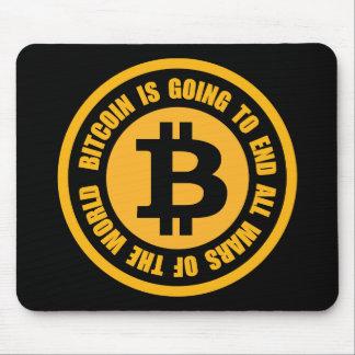 Tapis De Souris Bitcoin va finir toutes les guerres du monde