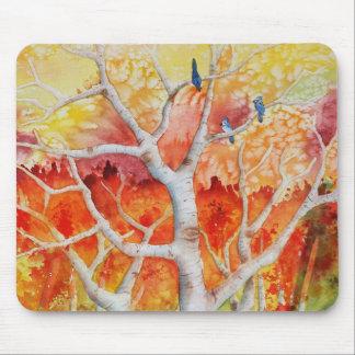 Tapis De Souris Blue Jays en automne