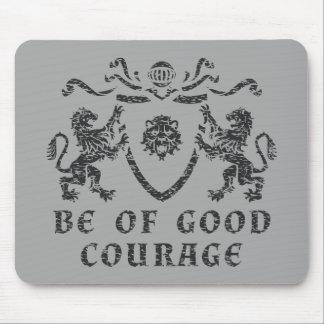 Tapis De Souris Bon blason Mousepad de courage