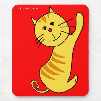 Tapis De Souris Bonjour chat Mousepad