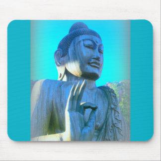 Tapis De Souris Bouddha bleu