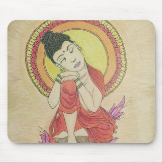 Tapis De Souris Bouddha paisible