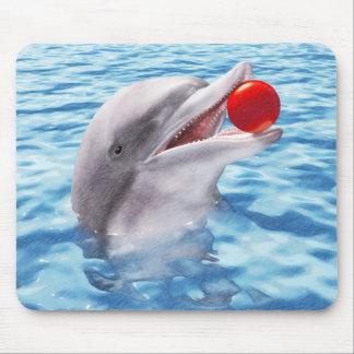 Tapis De Souris Boule de jeu de dauphin