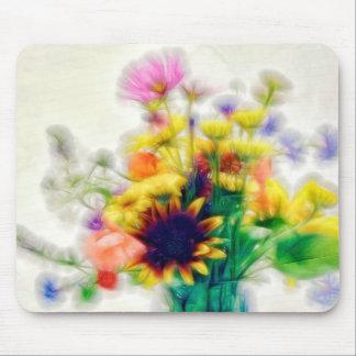 Tapis De Souris Bouquet de fleur sauvage d'été