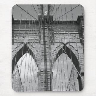 Tapis De Souris Brooklyn Brdige - B&W