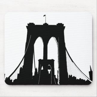 Tapis De Souris Brooklyn Bridge Dream