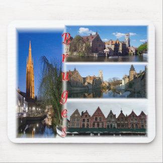 Tapis De Souris Bruges Belgique